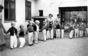 Jagtvejens Asyl Børnehus i gamle dage